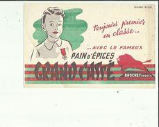 Buvard  De GRAND-CASSE  BROCHET FRERES PAIN D'EPICES A BESANCON 25 - Gingerbread