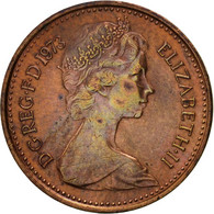 Grande-Bretagne, Elizabeth II, 1/2 New Penny, 1973, TTB, Bronze, KM:914 - 1971-… : Monnaies Décimales