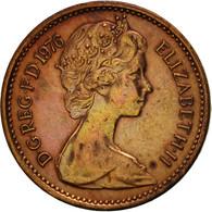 Grande-Bretagne, Elizabeth II, 1/2 New Penny, 1976, TTB, Bronze, KM:914 - 1971-… : Monnaies Décimales