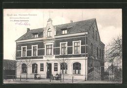 AK Hervest-Dorsten, Blick Zum Germania-Restaurant - Dorsten