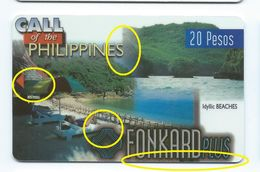 """1st Print Trial Not Approved Philippines P20 Beaches """"EXPIRATION DATE"""" Test First - Philippines"""