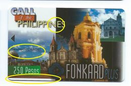 """1st Print Trial Not Approved Philippines P250 Churches """"EXPIRATION DATE"""" Test First - Philippines"""
