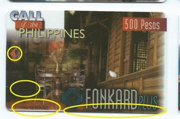 """1st Print Trial Not Approved Philippines P500 Houses """"EXPIRATION DATE"""" Test First - Philippines"""