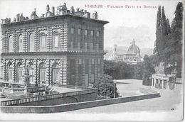 FIRENZE → Palazzo Pitti Da Boboli, Vecchia E Bella Cartolina Ca.1900 - Firenze (Florence)