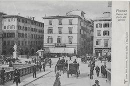 FIRENZE → Piazza Dl Ponte Alla Carraia,  Vecchia E Bella Cartolina Ca.1900 - Firenze (Florence)