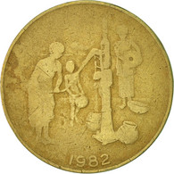 West African States, 10 Francs, 1982, Paris, TB+, Aluminum-Bronze, KM:10 - Ivory Coast