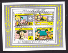 Tanzania, Scott #303, Mint Never Hinged, Scouting Overprinted, Issued 1986 - Tanzania (1964-...)