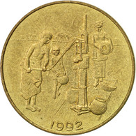 West African States, 10 Francs, 1992, Paris, TTB, Aluminum-Bronze, KM:10 - Ivory Coast