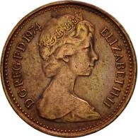 Grande-Bretagne, Elizabeth II, 1/2 New Penny, 1974, TTB, Bronze, KM:914 - 1971-… : Monnaies Décimales