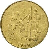 West African States, 10 Francs, 1989, Paris, TTB, Aluminum-Bronze, KM:10 - Ivory Coast