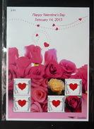 Thailand Stamp Personalized 2015 Happy Valentine Day - Rose - Thaïlande