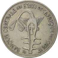 West African States, 100 Francs, 1976, Paris, TTB+, Nickel, KM:4 - Ivory Coast