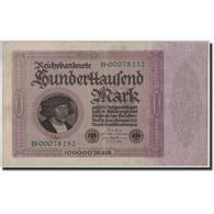 Allemagne, 100,000 Mark, 1923, KM:83a, 1923-02-01, TB - [ 3] 1918-1933 : République De Weimar