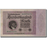 Allemagne, 100,000 Mark, 1923, KM:83a, 1923-02-01, TB - [ 3] 1918-1933: Weimarrepubliek