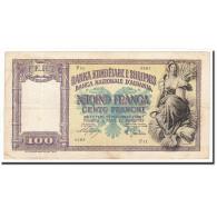 Albania, 100 Franga, Undated (1940), KM:8, TB - Albanie