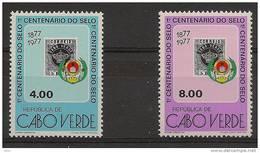 CAPE VERDE  1977  Centenary Of The First Stamp - Isola Di Capo Verde