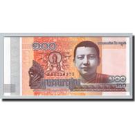 Cambodge, 100 Riels, 2014-2015, KM:65, 2014, NEUF - Cambodia