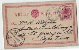 Ganzsache Oranje 1/2 Penny (481103) - Sud Africa (...-1961)