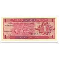 Netherlands Antilles, 1 Gulden, 1970, KM:20a, 1970-09-08, NEUF - Netherlands Antilles (...-1986)