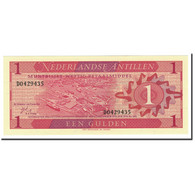 Netherlands Antilles, 1 Gulden, 1970, KM:20a, 1970-09-08, NEUF - Antilles Néerlandaises (...-1986)