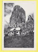 CPSM CINQUE TORRI Refuge Alpestre - Belluno