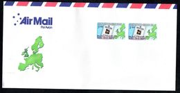 New Zealand Wine Post Export To Europe Par Avion Postal Cover. - New Zealand