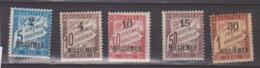 ALEXANDRIE           N°    TAXE 1/5     NEUF AVEC CHARNIERES        ( Ch    58     ) - Alexandrie (1899-1931)