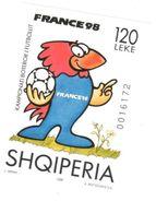 Football Worldcup 1998 Albania Sheet Mnh ** - 1998 – France
