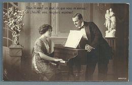 CPA - COUPLE - PIANO - Couples