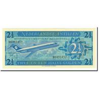 Netherlands Antilles, 2 1/2 Gulden, 1970, KM:21a, 1970-09-08, NEUF - Nederlandse Antillen (...-1986)