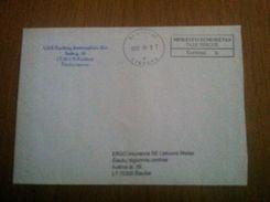 Cover From Lithuania Taxe Percue 2013 - Lituania