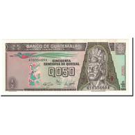 Guatemala, 1/2 Quetzal, 1989, KM:72a, 1989-01-04, NEUF - Guatemala