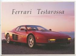 FERRARI TESTAROSSA (cp Vierge) - Passenger Cars