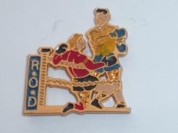 Pin's BOXEURS R.O.D. - Boxing
