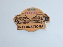 Pin's RALLYE, TEAM TRADING INTERNATIONAL - Rallye