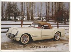 54 CORVETTE (cp Vierge) - Passenger Cars