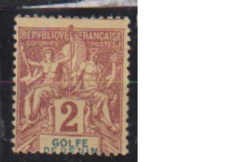 BENIN               N°   21     NEUF AVEC CHARNIERES        ( Ch     98  ) - Bénin (1892-1894)