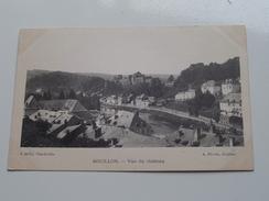 Vue Du Château ( A Gelly / A. Florin ) Anno 19?? ( Zie Foto Details ) !! - Bouillon