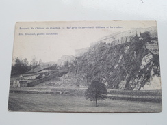 Vue Prise De Derrières Le Chateau Et Les Rochers ( Stroobant ) Anno 19?? ( Zie Foto Details ) !! - Bouillon