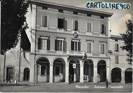 Emilia Romagna-bologna-minerbio Veduta Palazzo Comunale Anni 50 - Autres Villes