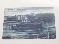 Vue Prise De L'Hôtel De FRANCE ( N° 14 - Lucien Deville ) Anno 1908 ( Zie Foto Details ) !! - Bouillon