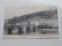 Pont De Liège Et Place St. Arnould ( Charpentier-Richard ) Anno 1903 ( Zie Foto Details ) !! - Bouillon