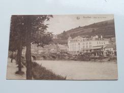 Hôtel De La Poste (Serie 2 - N° 52 ) Anno 1928 ( Zie Foto Details ) !! - Bouillon