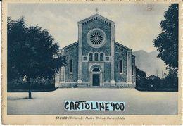 Veneto-belluno-sedico Veduta Nuova Chiesa Parrocchiale Anni 30/40 - Andere Städte