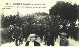CPA N°7449 - GUERRE FRANCO ALLEMANDE - CHAQUE JOUR DES PRISONNIERS ALLEMANDS ARRIVENT AUX COUETS - MILITARIA 14-18 - Nantes