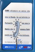 (2Eu) USATA °- IRITEL - 176  - - C&C.2319 - Mn - .  Vedi Descrizione - Italia