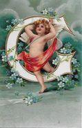 ANGEL AVEC DES ROSES → Carte Postale Anno 1904 - Anges