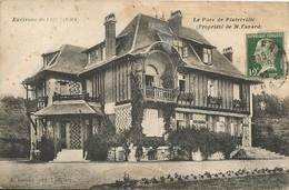 LOUVIERS - PINTERVILLE  -  27  -  Le Parc ( Propriété De M.Fayard ) - Pinterville