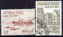 GREENLAND  # FROM 1974  STAMPWORLD  88-89 - Oblitérés