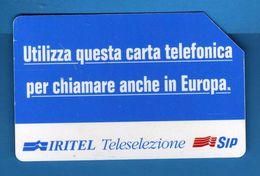 (2Eu) USATA °- IRITE - TELESELEZIONE - C&C.2323 - Mn - .  Vedi Descrizione - Italia